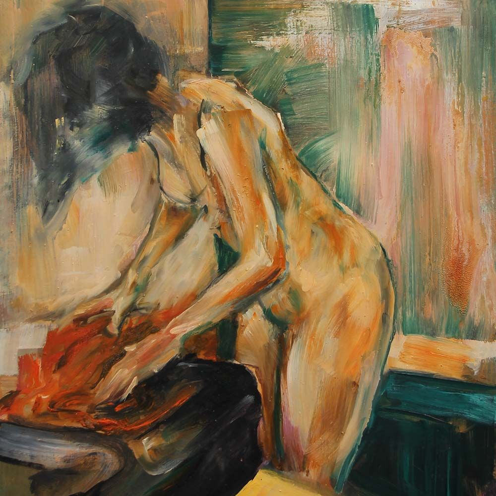 Carlos Pardo desnudos colección pintura
