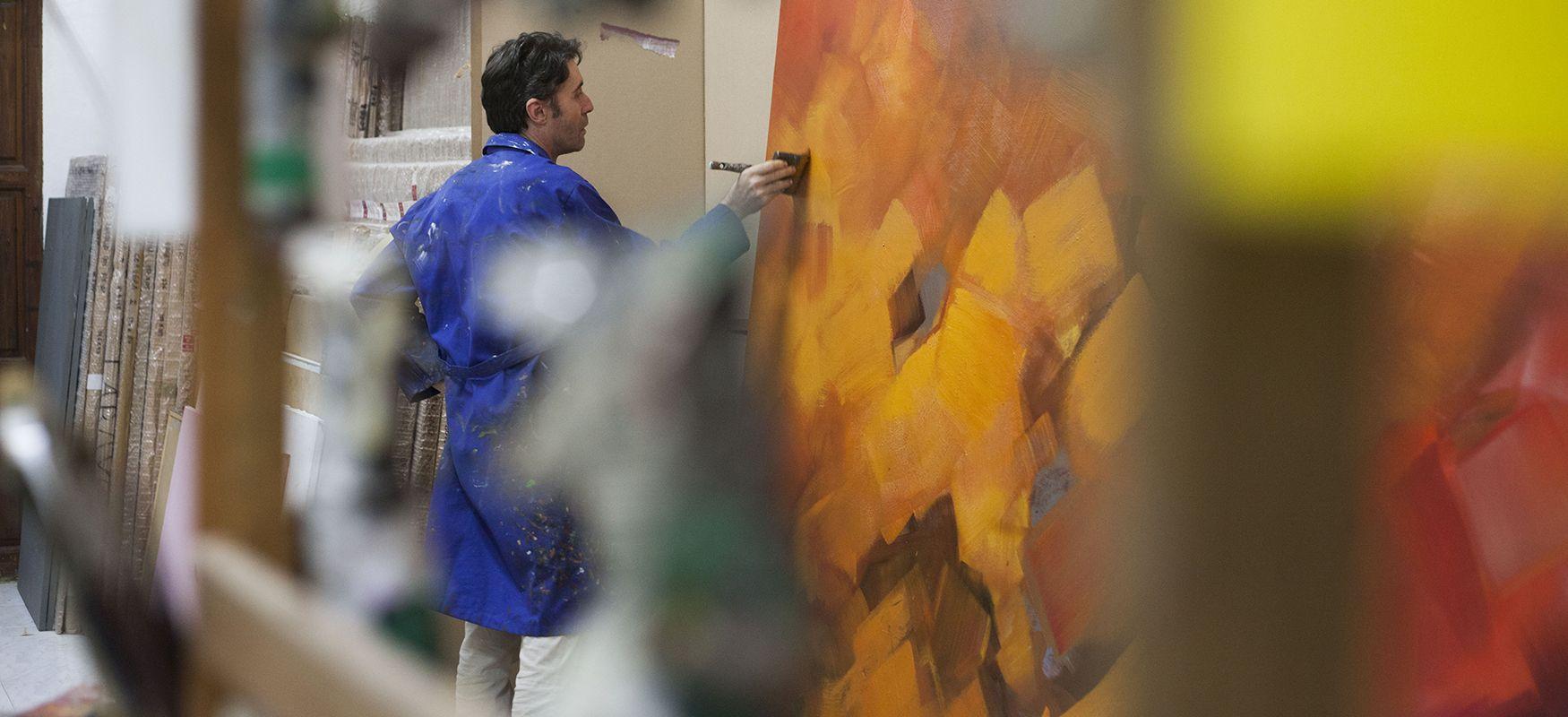 Carlos Pardo pintor de murcia