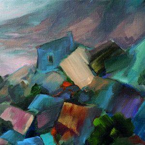 carlos-pardo-variaciones-paisaje-216la-casa-del-barranco-50x65